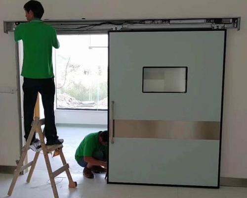 铅门防护门安装